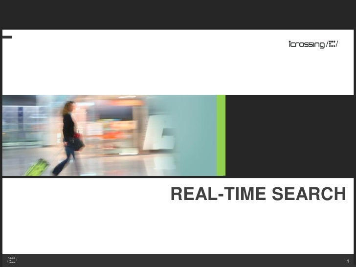 REAL-TIME SEARCH                  1
