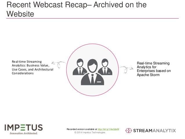 Real-world Applications of Streaming Analytics- StreamAnalytix Webinar Slide 2