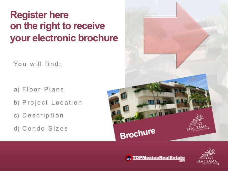 Register hereon the right to receiveyour electronic brochureYo u w i l l f i n d :a) F l o o r P l a n sb) P r o j e c t...