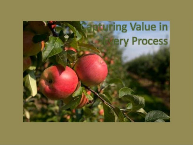 Capturing Value in Every Process Simplifying the Complex  Illuminating What is Hidden