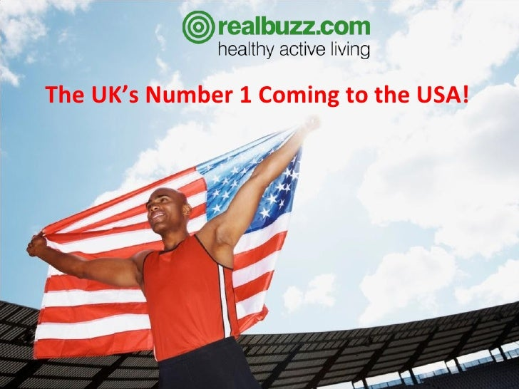The UK's Number 1 Coming to the USA!