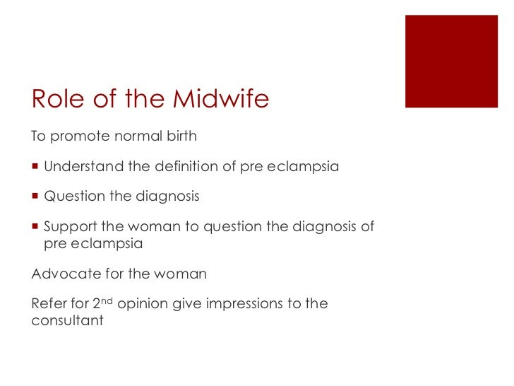 The Role of a Midwife