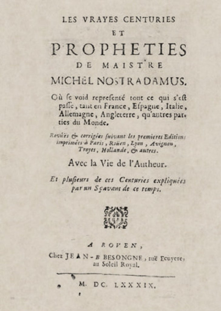 The Real Centurias of Master Michel Nostradamus Slide 2