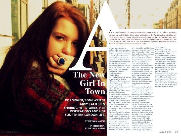 At 19, the beautiful, Grammy-winning singer-songwriter Amy Jackson translates                                             ...