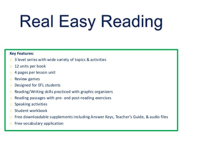 real easy reading presentation 3