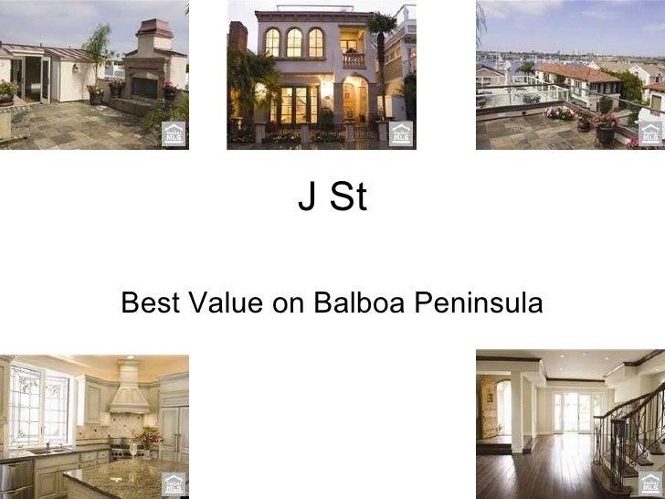 J St Best Value on Balboa Peninsula