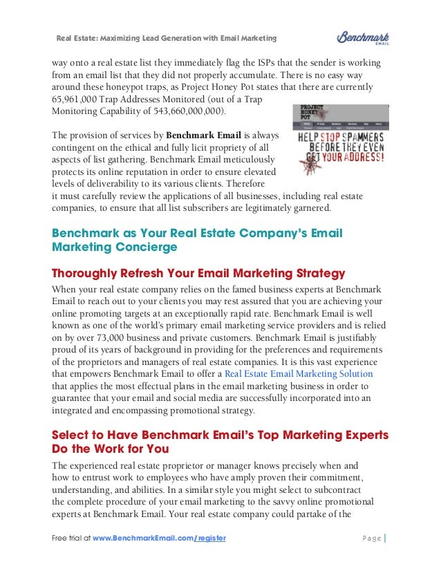 Real Estate: Maximizing Lead Generation with Email Marketing  We Do It for You Full Service Email Marketing process, that ...