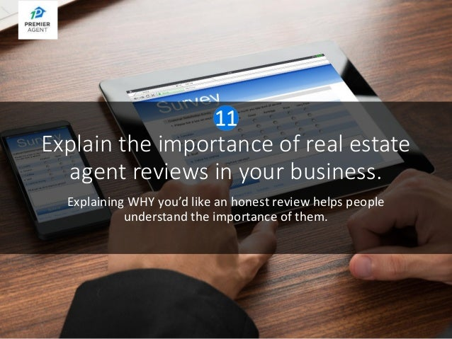 real estate agent reviews