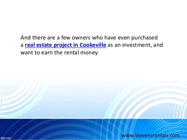 Property Management Services In Cookeville Tn