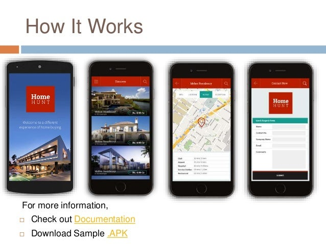 Android App Template | Get Real Estate Android Mobile App Template Only At 99