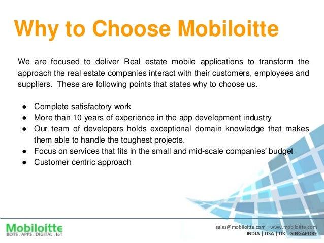 Real Estate App Development Mobiloitte