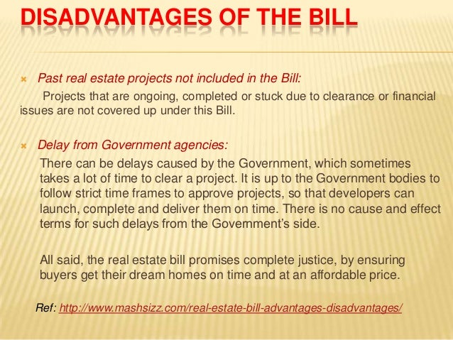Horseshoe Classroom Design Advantages And Disadvantages ~ Real estate bill advantages disadvantages