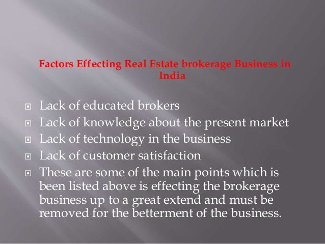 Real estate brokerage firm business plan
