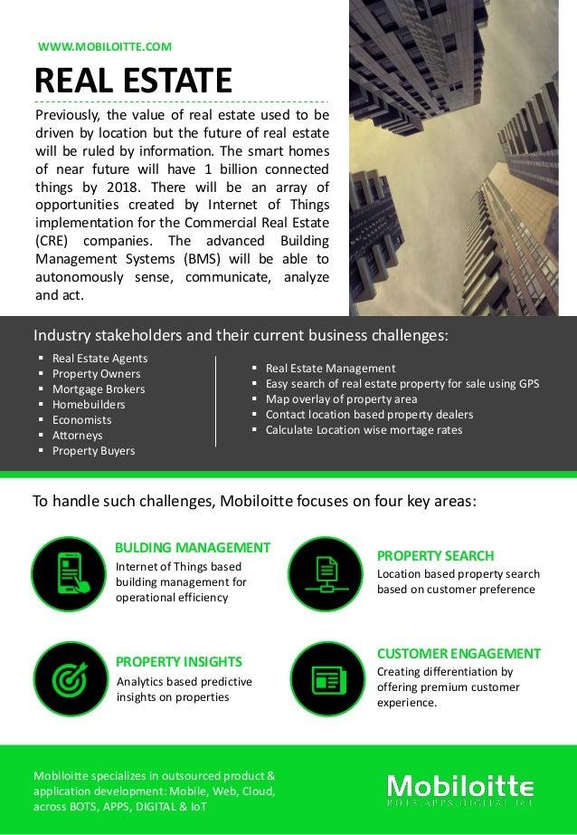 real estate flyer mobiloitte