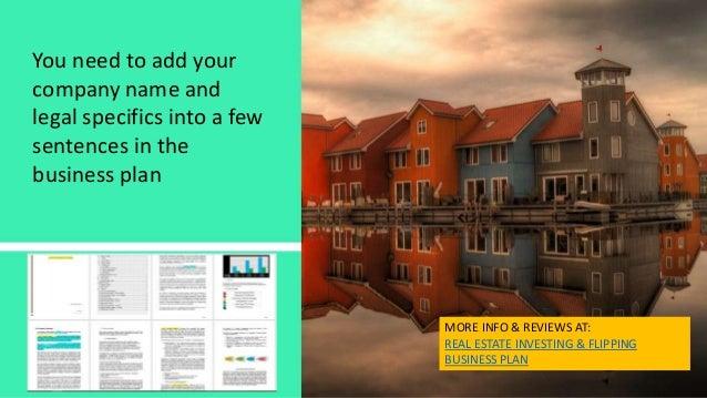 Flipping houses business model