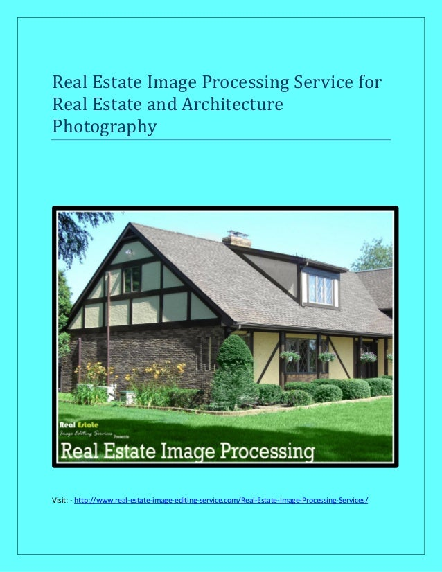 Real Estate Architecture : Real estate image editing services for and
