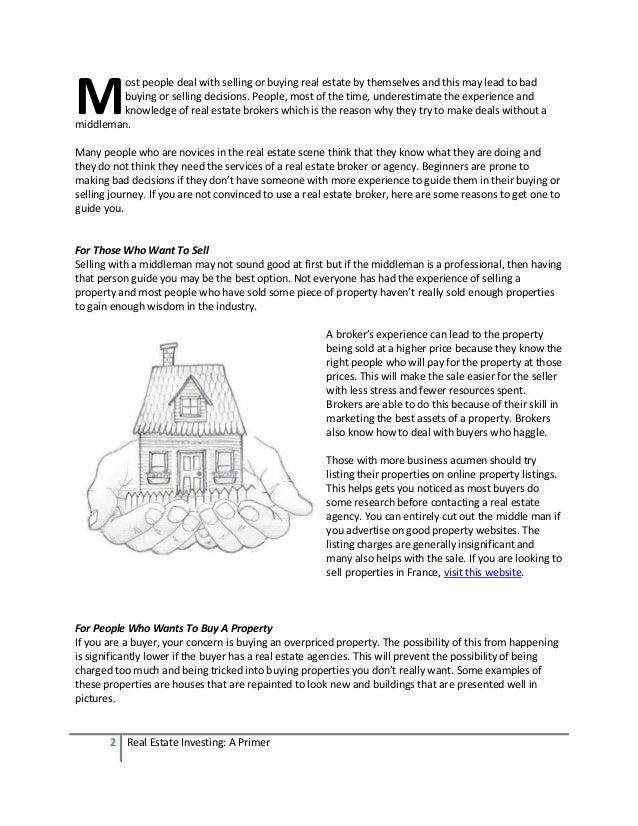 Real Estate Investing - A Primer Slide 2