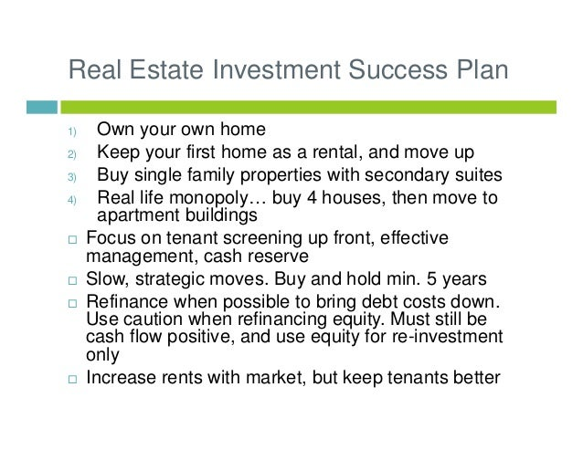 Canadian Real Estate Investing 101