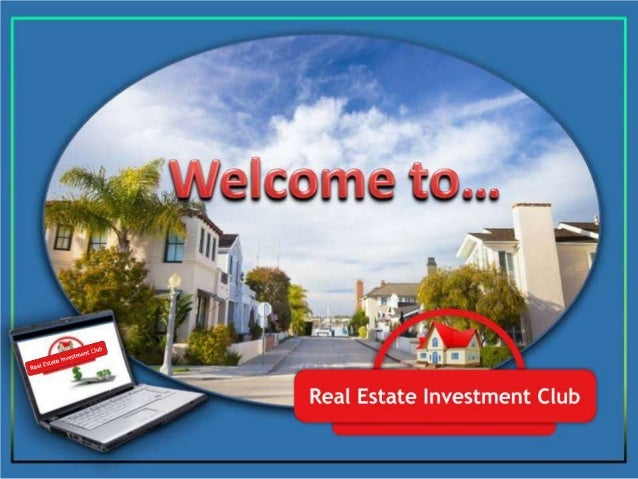 Real estate investment clubs uk yahoo suzi jench ubs investment bank