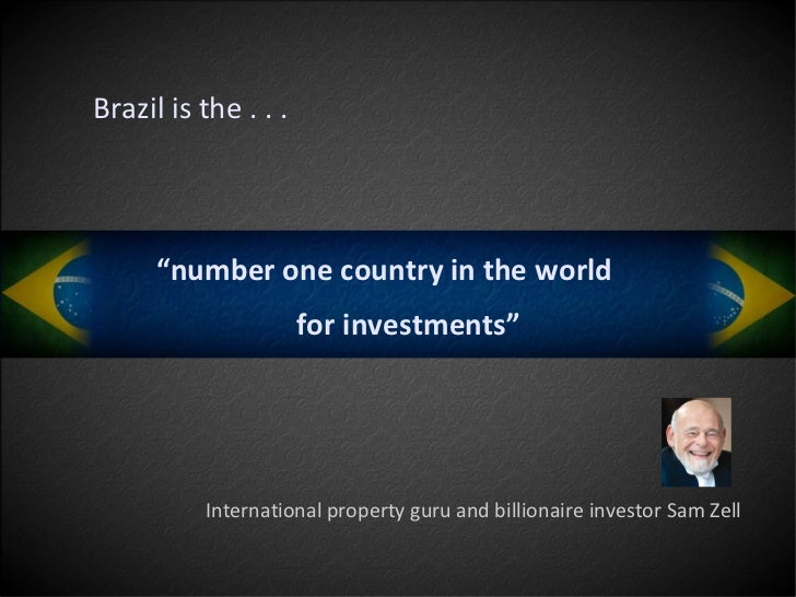 An overview of the country of brazil