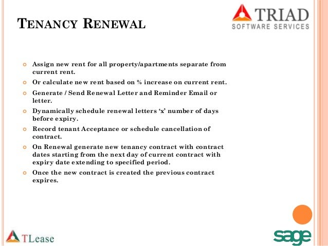 Superb Rental Contract Renewal