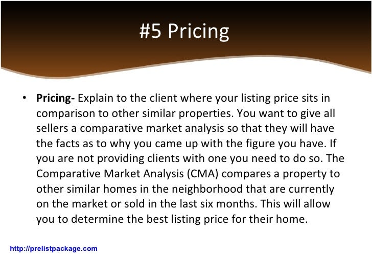 Real Estate Presentation Marketing Strategies – Real Estate Market Analysis Template