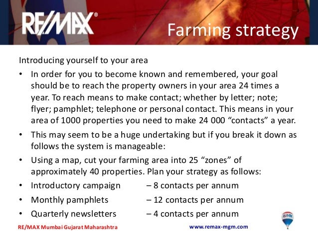 farming strategyintroducing