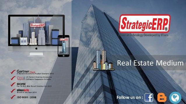 Real Estate Medium Follow us on :