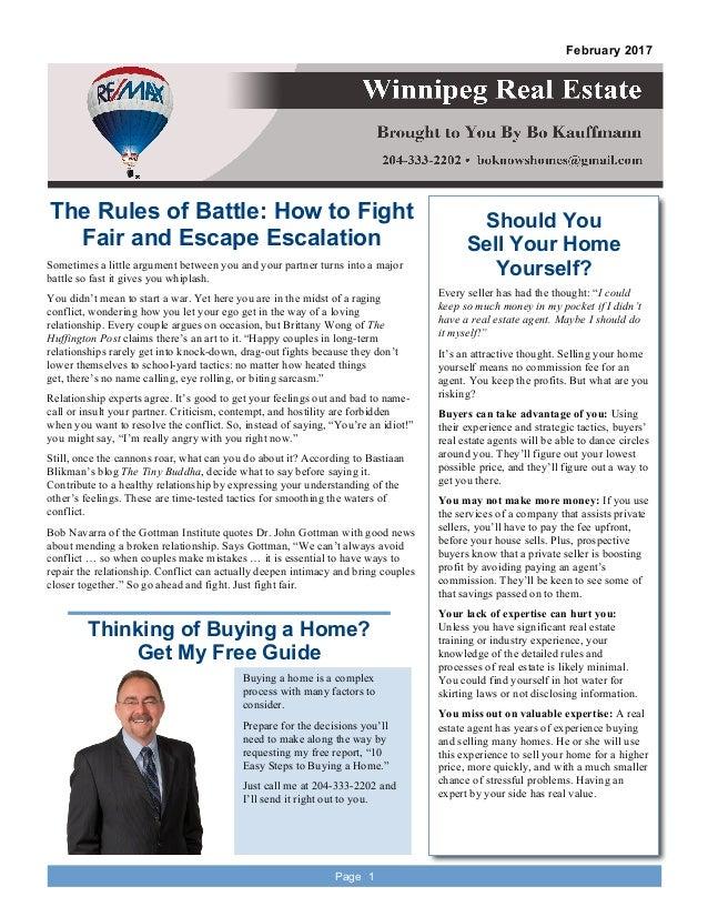 Winnipeg Real Estate Newsletter February 2017