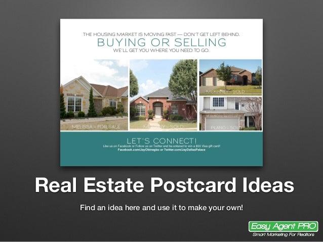 20 Real Estate Postcard Ideas