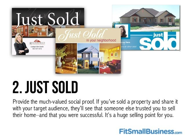 How To Use Real Estate Postcards To Market Your Business