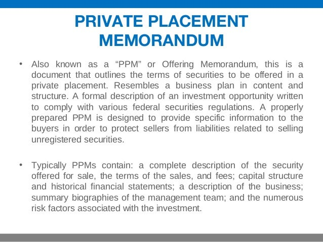 Sample Private Placement Memorandum This Sample Hedge Fund B