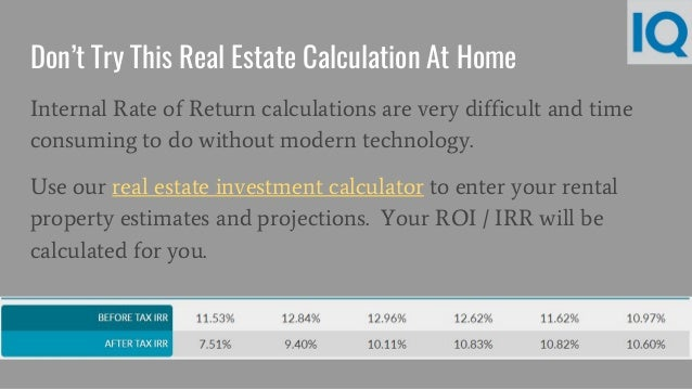 How to Calculate Return On Investment For Rental Properties