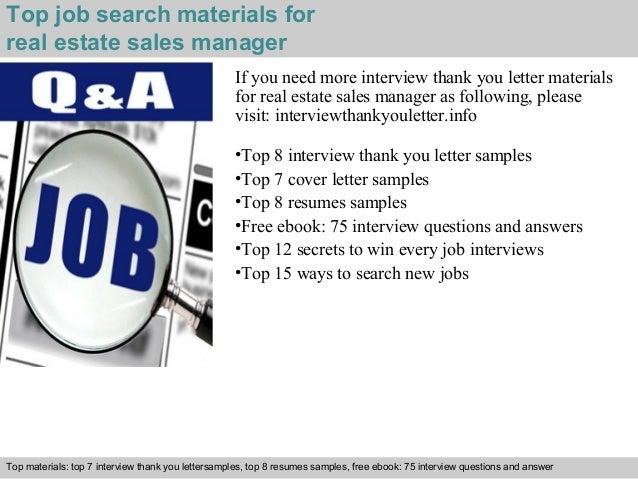 Real Estate Sales Manager
