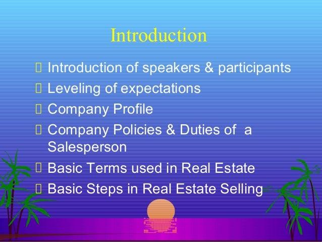 real estate sales training pdf