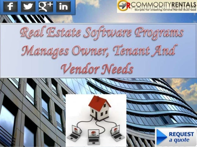 The real estate rental software is a good thing that helps people to manage their property with the software. It makes thi...