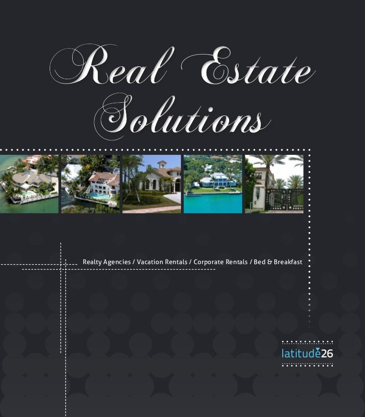 Real Estate Solutions Realty Agencies / Vacation Rentals / Corporate Rentals / Bed & Breakfast                            ...