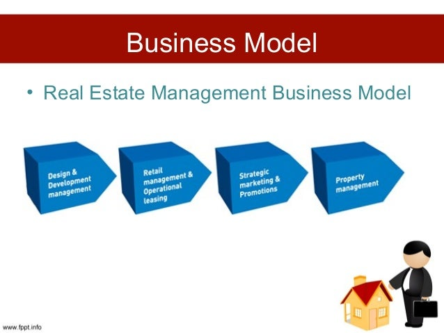 business model real estate management business model