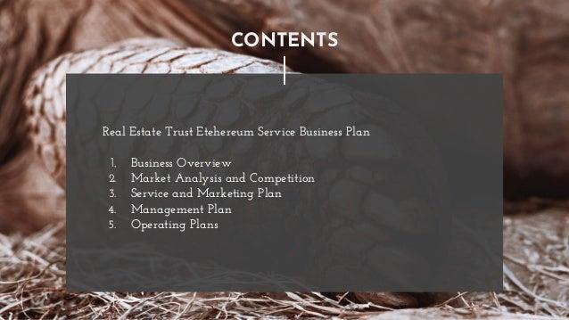 Real estate trust solution Slide 2