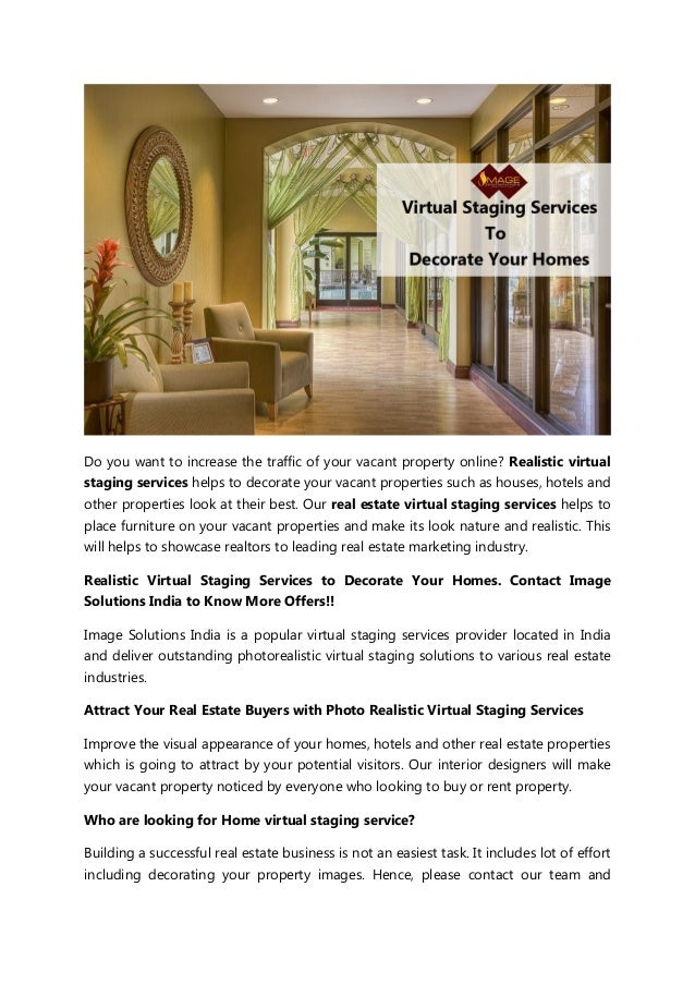 Real Estate Virtual Staging Services Home Staging Services
