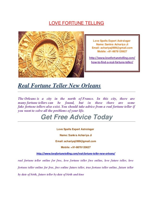 Real fortune teller new orleans,9878120627