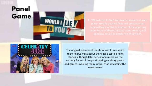 Gameshow Subgenres Slide 3