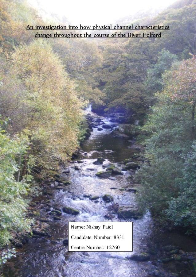 river tillingbourne coursework