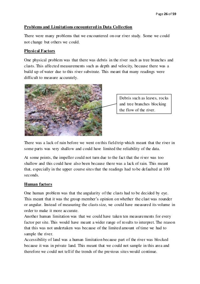 gcse geography river study coursework Key stage 4 cambridge igcse geography igcse geography paper 4 alternative to coursework the possible impacts of a river flood event and study.