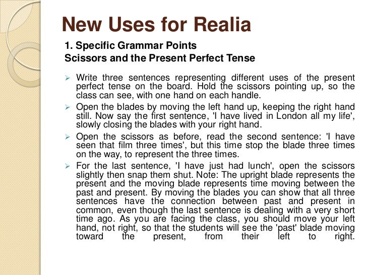 1. Specific Grammar Points   A Corkscrew, a Bottle Opener, Action and  State Verbs The different ways of opening wine and...