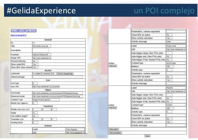 #GelidaExperience un POI complejo