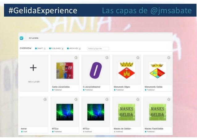 #GelidaExperience Las capas de @jmsabate
