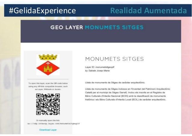 #GelidaExperience Realidad Aumentada