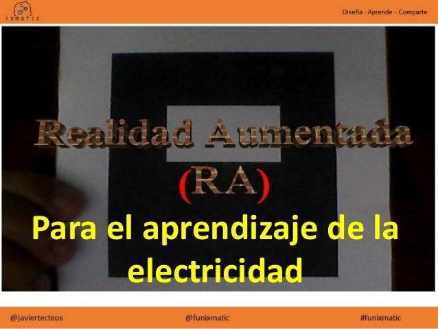 Realidad aumentada para el aprendizaje de la electricidad Slide 2