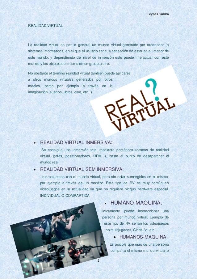 Realidad virtual Slide 3